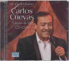 CD/DVD - Carlos Cuevas NEW La Voz Del Bolero Edicion De Lujo FAST SHIPPING !
