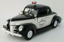 Police Car 1/32 Diecast Model 1940 Ford Deluxe Business Coupe