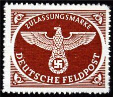 Nazi Military Parcel Post 1942 MNH Scott# MQ1a ,Free Shipping,See Details!(6859)