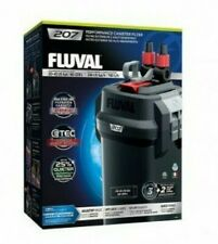 FLUVAL 207 Aquarium Canister Filter All Media included NEW Release 2019