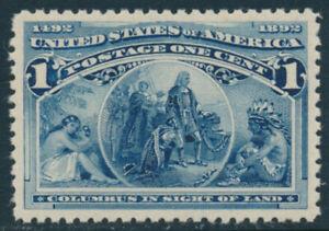 U.S. Scott #230 Mint Never Hinged Superb Centering w/PF Certificate CHOICE GEM