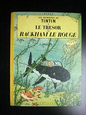 Le trésor de Rackham le Rouge B12 1955 Tim Kuifje Hergé