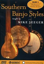 Southern Banjo Styles Taught by Mike Seeger, Vol. 1 (2008, REGION 1 DVD New)