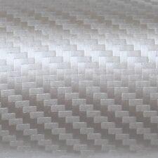 ( 32,88€/m ²) 50cm x152cm Oracal 975ca Carbono 090 GRIS PLATA Película Auto