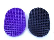 Palm Hand Grooming Massage Detangling Curry Brush for Dogs Puppies Cats Kittens