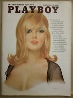 Playboy March 1965 * Very Good Condition * Free Shipping USA * W/ ORGINAL MAILER