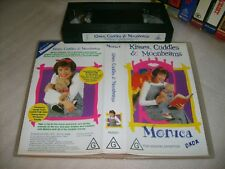 *MONICA - KISSES,CUDDLES & MOONBEAMS * 1998 VERY RARE Promotional Issue - Vhs