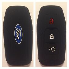 FORD BLACK CAR SMART KEY REMOTE COVER CASE MUSTANG MONDEO MKV FUSION F150 2015