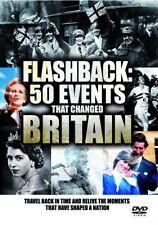 Flashback - 50 Events That Changed Britain (New 2 DVD set) British History