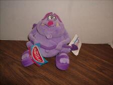 "Disney 7"" Purple Pain Plush Stuffed Bean Creature Hercules With Tags"