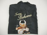 Tommy Bahama Of Dice And Men Shirt Mens Size M Black 100% Silk | Great Condition