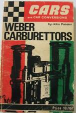 Weber Carburettors Cars And Conversions John Passini Car Book