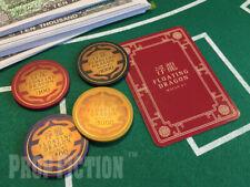James Bond 007: Skyfall - Prop Floating Dragon Casino Card & 4 Poker Chip Set