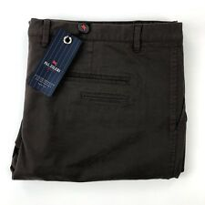 Pal Zileri Concept Men's Dark Rusty Brown Casual Chino Pants Size 40x36
