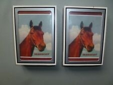 TWO DECKS OF SEABISCUIT PLAYING CARDS, MINT