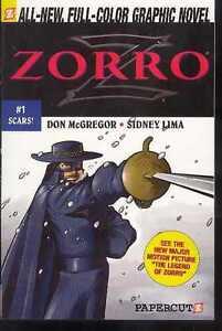 ZORRO VOLUME 1 SCARS 2005 PAPERCUTZ FULL COLOUR GRAPHIC NOVEL DIGEST