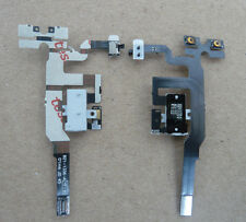 White Headphone Audio Jack Volume Flex Cable Replacement Parts For iPhone 4S