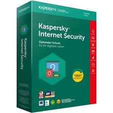 Kaspersky Internet Security 2018 5PC Geräte 1Jahre Vollversion ESD Key Download