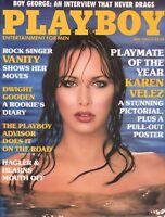 PLAYBOY MAY 1985 Kathy Shower Karen Velez Vanity Boy George Dwight Doc Gooden