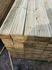 Treated Wooden Timber Decking Boards 3.6//4.8m Lengths 145mm x 28mm BRISTOL BASED