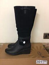 UGG Lesley Black  Boots Size UK 3.5, 7.5  RRP £170