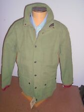 John Partridge Cotton Blend with Quilt Lining Hardy Field Jacket NWT Large $445