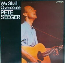 LP pete seeger – we shall overcome, vg +, cleaned, Amiga – 8 45 038 de 1970