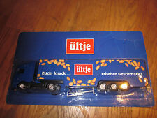 Ültje NUTS Advertising Truck Food Candy Sweets Truck Model New OVP