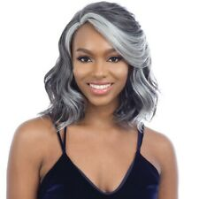 FREETRESS EQUAL SYNTHETIC SILVER STAR LACE PART WIG - SS 03