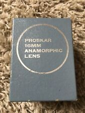 Anamorphic -16 Proskar-Ishico Lens Cinémascope 16 mm Projector Lens