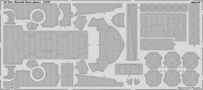 Eduard pe 53135 1/350 ijn musashi sol plaques tamiya