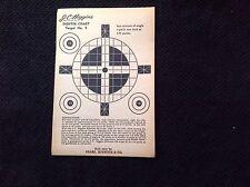 vintage J C Higgins Sighter Chart Target # 4 Sold By Sears Roebuck & Co