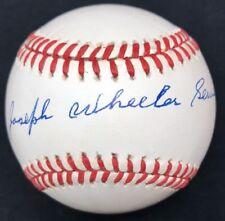 Joseph Wheeler Sewell Full Name Signed Baseball PSA/DNA Joe HOF