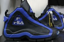 vintage Fila Grant Hill II sneakers 5.5 new 90's evergrind blue black basketball
