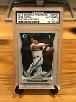Jose Abreu RC Auto 2014 Bowman Chrome Rookie PSA 10? Gem Mint Autograph AL MVP🔥