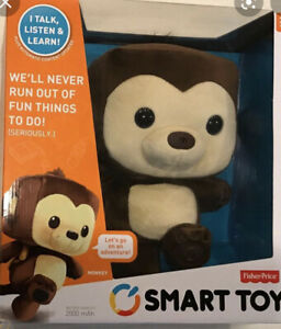 FISHER PRICE--SMART TOY INTERACTIVE MONKEY New!❤️❤️❤️