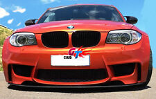 MOTO GP LW STYLE CARBON FRONT LIP SPOILER FOR BMW E82 E88 1M & M TECH BUMPER