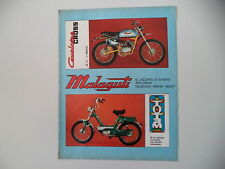 advertising Pubblicità 1971 MOTO MALAGUTI CAVALCONE CROSS 50/TOTEM
