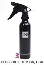Aluminum Spray Water Bottle (Black)