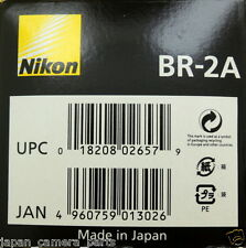 Nikon BR-2A Macro adapter ring used with 52mm lens New