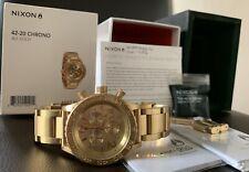 SALE! Authentic Nixon 42-20 Chronograph Watch Unisex