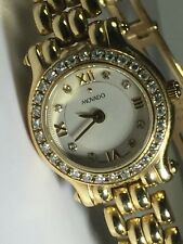 Authentic Movado Women's 14k Yellow Gold & Diamond Round Watch Pre-Owned
