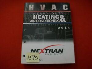 SEMI HVAC REDDOT HEAVY DUTY HEATING & AIR CONDITIONING PARTS CATALOG NEXTRAN HTF