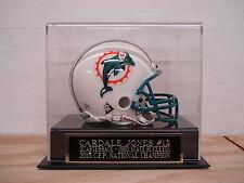 Display Case For Your Cardale Jones Buckeyes Autographed Football Mini Helmet