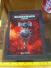 Warhammer 40k 40,000 fuera de imprenta Norma Libro Games Workshop normativa Mini versión no actualizada