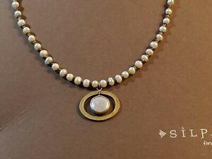 Silpada Go Coastal Necklace N1894 Never Worn in Silpada Box