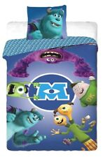 Monsters University 100% COTTON SINGLE DUVET COVER & EUROPEAN PILLOWCASE SET