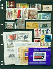 Foreign complete MNH sets and S/s CV $40.25- cheap!