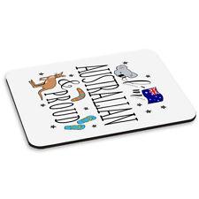 Je suis Australien Et Fier tapis de souris PC ordinateur - Drapeau Drôle Rugby