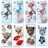 NEW 3D CLEAR BLING DELUX DIAMANTE SPARKLE CASE COVER FOR SAMSUNG iPHONE SONY HTC
